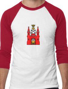 riga Latvia Men's Baseball ¾ T-Shirt
