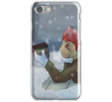 Winter Thoughts iPhone Case/Skin