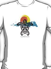 Tribal Turtle Sunset / Luana Kai Maui T-Shirt