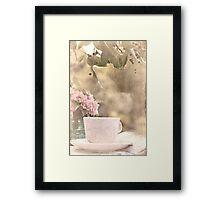 The Simplest Things Bring Joy:-) Framed Print