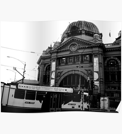 Trams of Melbourne Poster