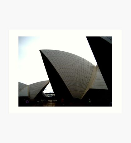 The Opera House Art Print