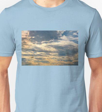 On the Shining Path Across the Sky Unisex T-Shirt
