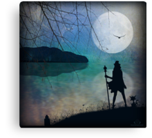 The Witches Realm Canvas Print