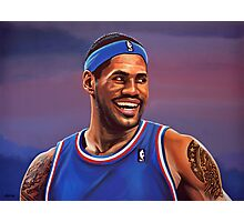 LeBron James Painting Photographic Print