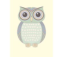 Only One Owl Photographic Print