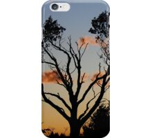Tree in Sunset iPhone Case/Skin