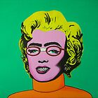 Parody of a Master (Andy Warhol- Marilyn) by SavannahStone