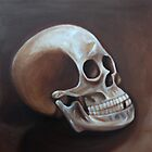 Old Master Style Skull by SavannahStone