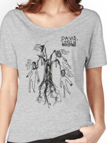'David Lynch Family Tree' Women's Relaxed Fit T-Shirt
