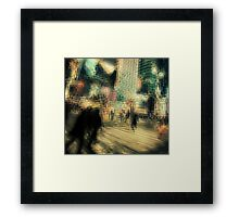 Mad World Framed Print