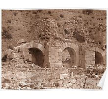 Bath of Varius - Ephesus Poster