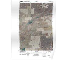USGS Topo Map Washington State WA Providence 20110404 TM Poster