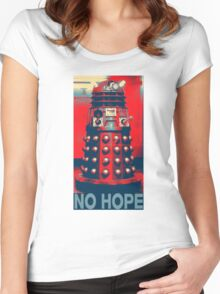 No Hope Dalek Women's Fitted Scoop T-Shirt