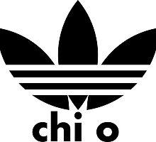 Chi Omega Adidas by greekinmyrari