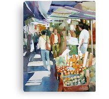 Shopping Shapes - Hong Kong Canvas Print