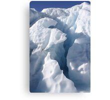 Ice formation  Canvas Print