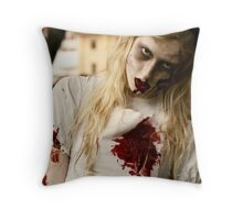 The Doll House Throw Pillow