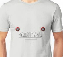 Etch a Sketch - San Francisco Unisex T-Shirt