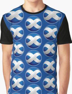 Scotland - Scottish Flag - Football or Soccer 2 Graphic T-Shirt