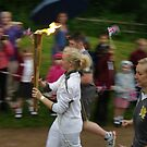 Carrying the Flame by Marion Throup