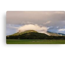 Cloud cap Canvas Print