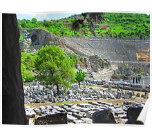 The Grand Theatre - Ephesus Poster