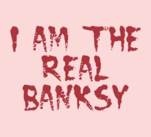 I am the Real Banksy by Chillee Wilson Kids Clothes