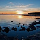Sunset at Kimmeridge by Victoria Ashman
