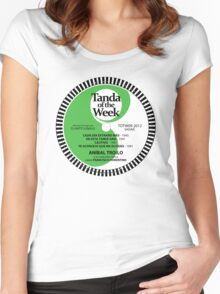 TOTW09/2012 - Troilo / Fiorentino - TK - Green Women's Fitted Scoop T-Shirt