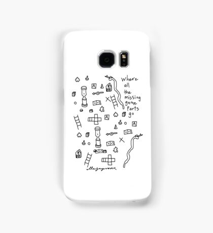 'Where all the Missing Game Parts go...' Samsung Galaxy Case/Skin