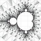 Tessellated Mandelbrot  by Rupert Russell