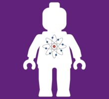 Minifig with Atom Symbol by Customize My Minifig by ChilleeW