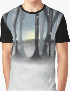 Winter Silence Graphic T-Shirt