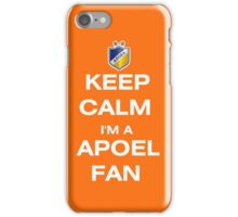 Keep Calm I'm a APOEL FAN iPhone Case/Skin