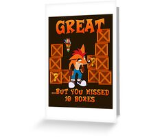 No Gem For You! Greeting Card