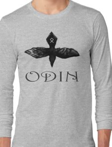 Odin Raven t-shirt Long Sleeve T-Shirt