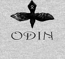 Odin Raven t-shirt Womens Fitted T-Shirt