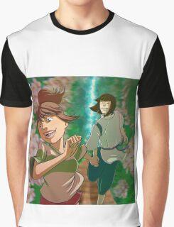 Chihiro & Haku Graphic T-Shirt