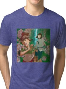 Chihiro & Haku Tri-blend T-Shirt