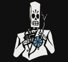 Grim Fandango - Manny Calavera by fleros