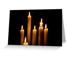 Candle Power Greeting Card