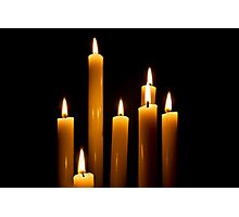 Candle Power Photographic Print