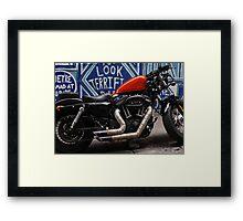 tough bike - looking terrific. Framed Print