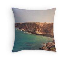 Great Australian Bight Throw Pillow