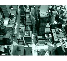 Hybrid City ( 1978-88 ) # 1 Photographic Print