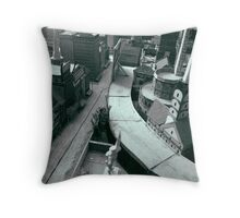 Hybrid City ( 1978-88 ) #3 Throw Pillow