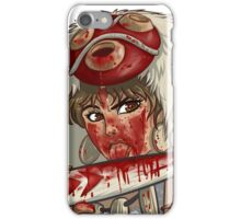 Mononoke's Bloody Knife iPhone Case/Skin