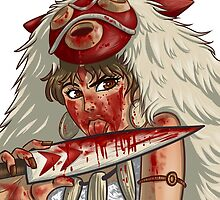 Mononoke's Bloody Knife by Holyengine