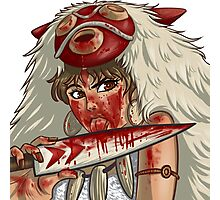 Mononoke's Bloody Knife Photographic Print